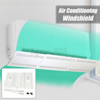 Adjustable Air Conditioner Cover Windshield Conditioning Baffle Shield Anti-wind