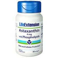 Astaxanthin with Phospholipids Life Extension - Haematococcus pluvialis algae