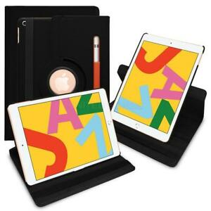 "For Samsung Galaxy Tab A7 10.4"" 360 Rotating Leather Smart Case w/ Pencil Holder"