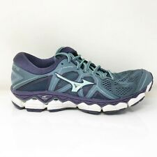 Mizuno Womens Wave Sky 2 410996 BM6Z Blue Mirage Running Shoes Lace Up Size 7.5