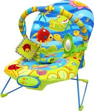 Baby Infant Rocker Bouncer Swing Reclining Chair Soothing Music Toys Vibration