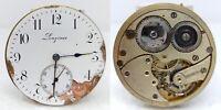 Orologio Longines mechanical watch da tasca pocket watch vintage clock montre
