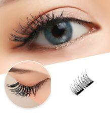 3D Magnetic Eyelashes Reusable Single Double magnet Full Strip False Extension