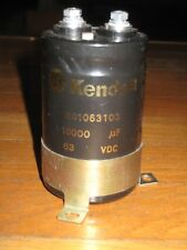 Kendeil Capacitor 10000 uF 63VDC K01063103 con supporto - with support