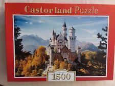 """Castorland 1500 piece jigsaw puzzle """"Neuschwanstein, Germany"""""""