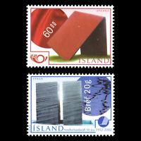 Iceland 2002 - Contemporary Art - Sc 963/4 MNH