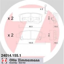 ZIMMERMANN Brake Pad Set, disc brake 24014.155.1