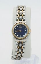 TISSOT Ladies Sapphire Crystal Silver Gold Tone Stainless Steel Watch - It Works