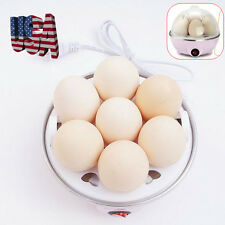 7-eggs Capacity Automatic Shut off Electric Rapid Egg Cooker With Water USA Ship