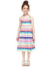 BNWT M&S Multi Stripe Strappy Summer Sun Dress 18-24 Months