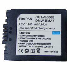 CGA-S006 Battery for Panasonic Lumix DMC-FZ28 DMC-FZ7 DMC-FZ8, FZ50, FZ8K, FZ28K