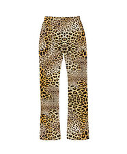 Classic Original Leopard Cheetah Animal Print Pyjama Bottoms Loungewear Fashion