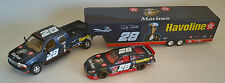 BROOKFIELD 1/24 RICKY RUDD #28 US MARINES TRIBUTE 3 PIECE SET WITH TRAILER