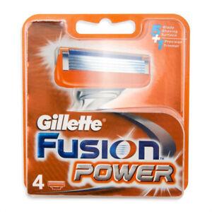 GILLETTE - Fusion Potencia Recargas Hojas Para 4-7702018877591-7702018877