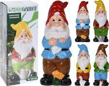 Appealing Garden Gnomes 30cm Choice of 4 Colours Patio Garden Terrace Gnome