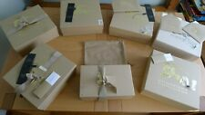 Burberry set of 7 empty shoe boxes