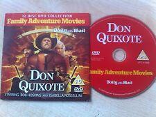 DON QUIXOTE Starring Bob Hoskins & Isabella Rossellini Family Adventure DVD