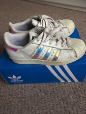 ADIDAS superstar trainers size 3 UK