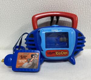 KID CLIPS RADIO PLAYER DISNEY TUNES RETRO handheld music  Jungle book