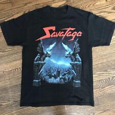 Vtg SAVATAGE Dead Winter Dead Tour Cotton Black Men T-Shirt S-4XL YY125