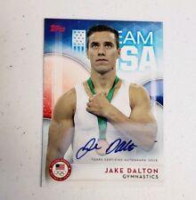 2016 Topps U.S. Olympic Team Autographs #25 Jake Dalton