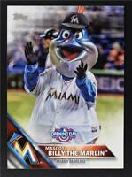 2016 Topps Opening Day Mascots #M2 Billy the Marlin - NM-MT