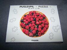 New ~ Raspberries/Blackcurrants ~ 300 piece jigsaw ~ Circular 44cms ~ Tiger