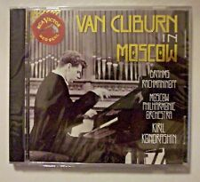 VAN CLIBURN IN MOSCOW  MOSCOW PHILHARMONIC RCA VICTOR RED SEAL CD - SEALED - NEW