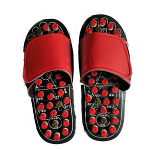 Women Men Slipper Sandal Massage Slippers Acupuncture Foot Massager Shoes