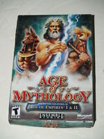 Age of Mythology 1.0 -new sealed - Win32