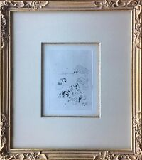 Marc Chagall - Original Etching - La Naissance (The Birth) from Maternite, 1926