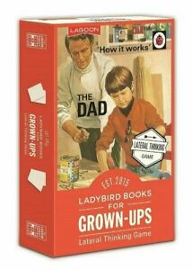 Ladybird Vintage Collection - Grown-Ups Lateral Thinking Card Game