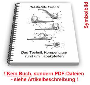 Tabakpfeife selbst bauen - Tabakspfeife Pfeife Technik Patente
