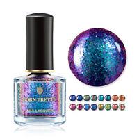 BORN PRETTY 6ml Magic Nail Polish Shining Glitter Chameleon Tip Nail Art Varnish
