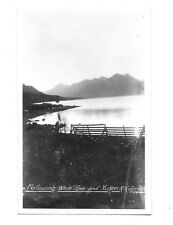 1900s RPPC Real Photo Postcard ~ Following White Pass and Yukon RR ~ Canada