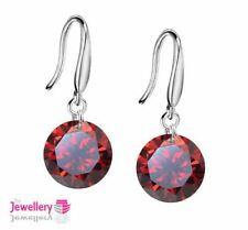 Unbranded Cubic Zirconia Drop/Dangle Round Costume Earrings