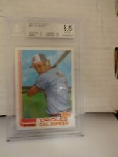 1982 Topps Traded Cal Ripken R.C. Baltimore Orioles BVG 8.5 NM-MT+ Card # 98T