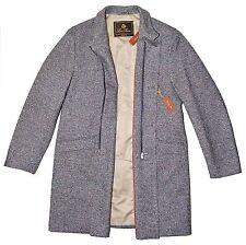 LORO PIANA 100% Cashmere Martingala 3/4 Length Coat 56IT XXL ITALY $4495