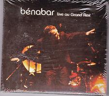 DOUBLE CD DIGIPACK 24T BENABAR LIVE AU GRAND REX 2004 NEUF SCELLE