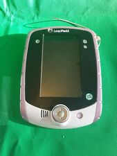 LeapFrog LeapPad2 Tablet With Stylus, Charger, hard case & letter factory game.