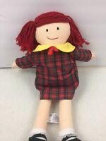 """15"""" MADELINE Rag Cloth Doll Toy NWT 2004"""