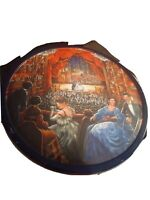 """A NIGHT AT THE OPERA Empty Jacobsens Bakery 10"""" X 5""""  ROUND METAL TIN A38"""
