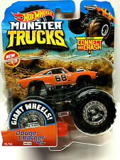 Hot Wheels 2019 Monster Trucks Series Dodge Charger R/T Mopar (Orange) 1/64
