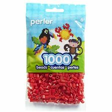 1000 Perler Red Color Iron On Fuse Beads: 80-19005