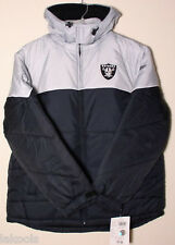 New Oakland Raiders official licensed Hoodie Jacket size L