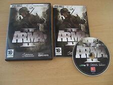 ARMA II 2 Pc DVD Rom FAST SECURE DISPATCH