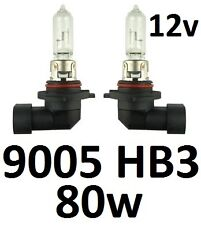 9005 HB3 12v 80W Globes Bulbs Honda Accord Civic Integra MDX Odyssey Hi Beam