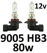 9005 HB3 12v 80W Globes Bulbs Toyota Landcruiser 100 105 200 series Prado150 Hi