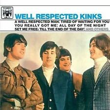 KINKS-WELL RESPECTED KINKS  CD LIKE NEW--FREE SHIP USA