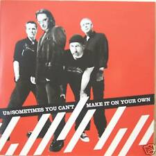 """U2 """"SOMETIMES YOU CAN'T MAKE IT ON YOUR OWN"""" cd's mint"""